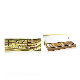 Naked honey eyeshadow palette (12x eyeshadow, 1x doubled ended smudger/ tapered crease brush) 248239 -