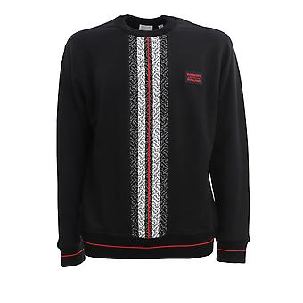 Burberry 8026939a1189 Men's Black Cotton Sweatshirt