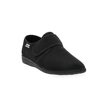 Emanuela 986 black slipper shoes