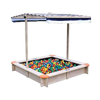 hedstrom play sand and ball pit with canopy mv sports for ages 18 months and