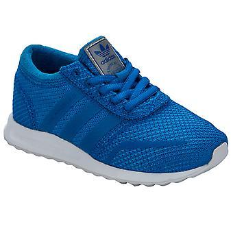 Boy & apos; s adidas Originals Barn Los Angeles Utbildare i blått