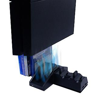 Numskull PlayStation PS4 multifunctionele 5 in 1 dockingstation / Console Stand