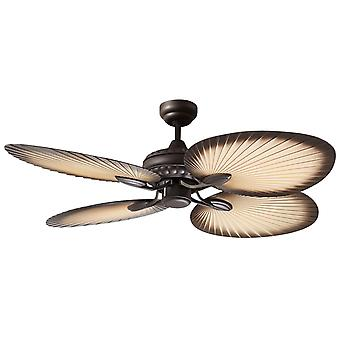 """Outdoor ceiling fan Oasis 132cm / 52"""" with remote control"""