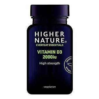 Higher Nature Vitamin D3 2000iu Vegicaps 60 (DV2060)