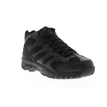 Magnum Wild Fire Tactical 5.0  Mens Black Leather Lace Up Ankle Boots