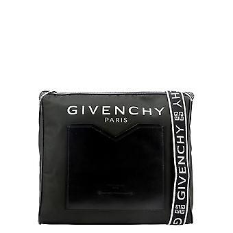Givenchy Bk507hk0b5004 Hombres's Bolso de mensajero de poliéster negro