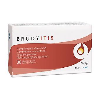Brudy itis 30 capsules
