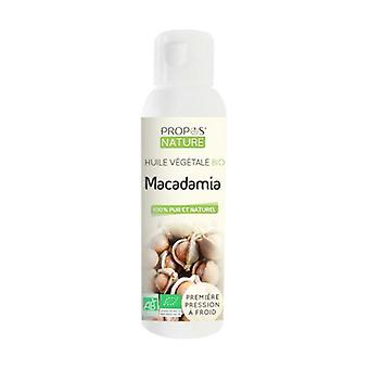 Organic Macadamia Vegetable Oil 100 ml