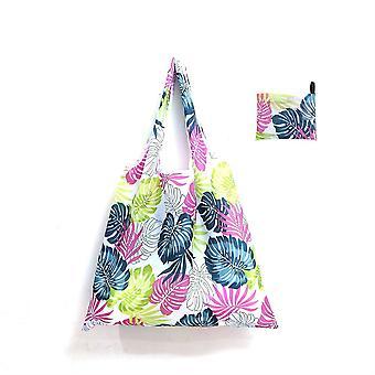 Grand sac réutilisable, sac fourre-tout pliant portable de protection de l'environnement
