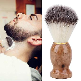 "Badger Hair Men""s Shaving Brush With Wood Handle - Facial Beard Cleaning"