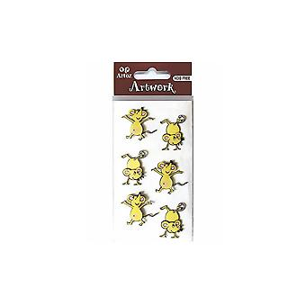 Dancing Mice Card Embellishments By Artoz