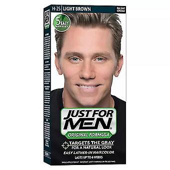 Jen pro muže šampon-in barevná sada, světle hnědá, 1 ea *