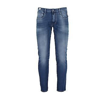Replay Anbass Hyperflex Jeans Light Denim