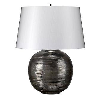 1 Lichte tafellamp Zilver, E27