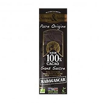 Saveurs/En 100% Cocoa Sugar Free Chocolate - Peru - Saveurs/En 100% Cocoa Sugar Free Chocolate - Peru
