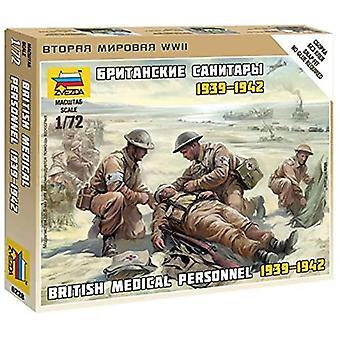 Zvezda Z6228 Britse Medic Team Model Kit