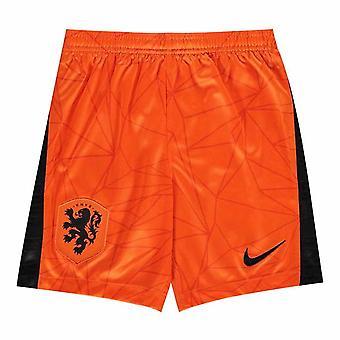 2020-2021 Ολλανδία Nike Σορτς Σπίτι (Πορτοκαλί) - Παιδιά