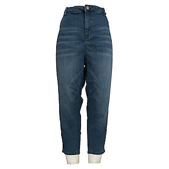 Laurie Felt Women's Petite Jeans Denim Skinny Zip Fly Blue A375166