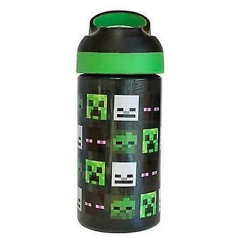 Minecraft Mob Heads Water Bottle