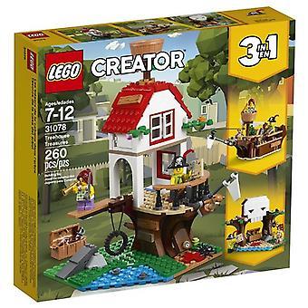 Сокровища LEGO 31078 дерево дом