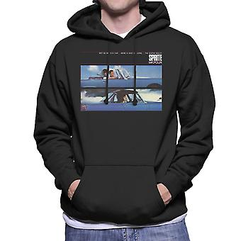 Austin Healey Sprite Mk IV A Way Of Living British Motor Heritage Men's Hooded Sweatshirt