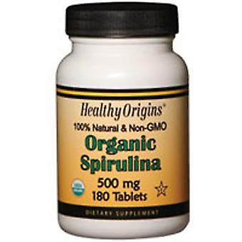 Healthy Origins Spirulina, 500 mg, 180 Tabs