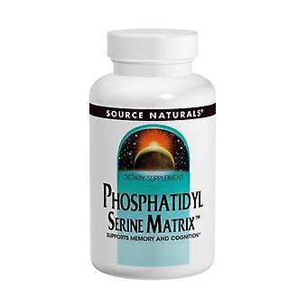 Quelle Naturals Phosphatidyl Serin, 500 mg, Matrix Softgel 60 Sg