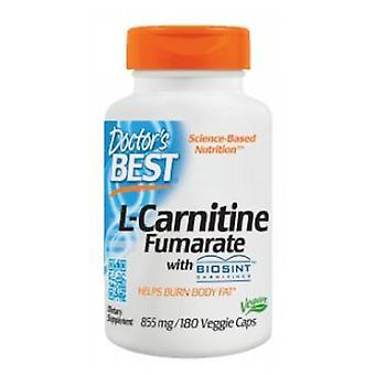 Lääkärit Paras L-karnitiini Fumarate, 855 mg, 180 Kasvismyssyt