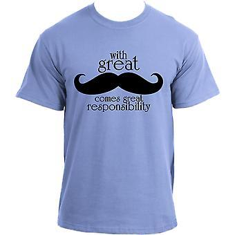 Moustache Movember Mustache November Gentlemen Grow Your Mo' Hipster T-Shirt