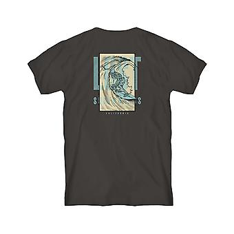 Lost Night Of The Living Barrel Short Sleeve T-Shirt in Black