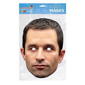 Masque-arade Benoit Hamon Célébrités Party Face Mask