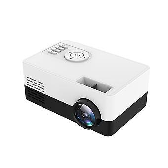 Mini-Projektor J15 320 * 240 Pixel unterstützt 1080P HDMI USB Mini Beamer Home Media Player Kinder Geschenk