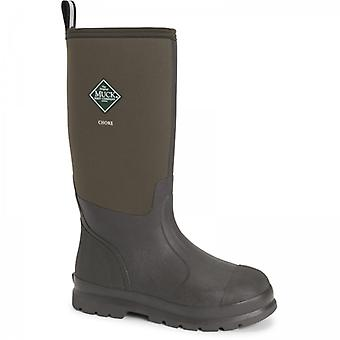 Muck Boots Chore Classic Hi Mens Neoprene Wellington Boots Brown