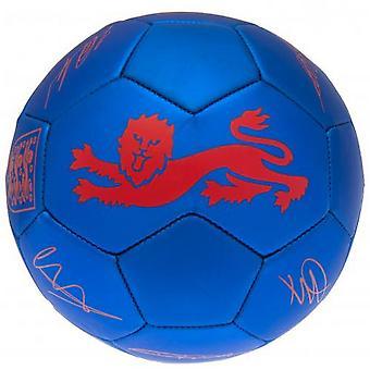 England FA Signatur Fotboll