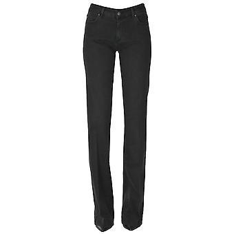 Atelier Cigala's Ezgl457022 Women's Black Cotton Jeans