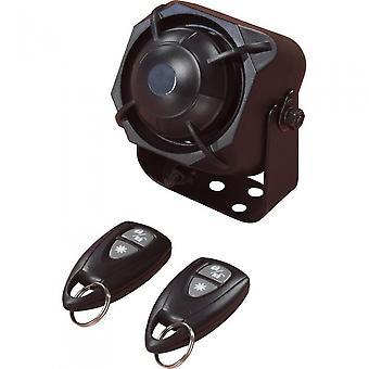 auto-alarm D-I-Y schoksensor en 2 afstandsbedieningen