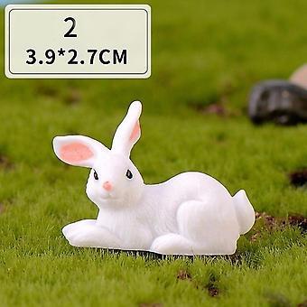 أرنب عيد الفصح الديكور مصغرة - حديقة صغيرة زخرفة