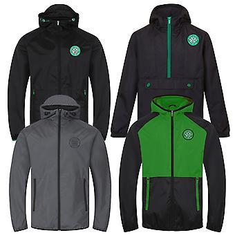 Celtic FC Mens Jacket Shower Windbreaker OFFICIAL Football Gift