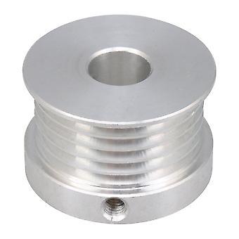 M4 Dinte V în formă de aluminiu Curea Scripete 10mm Bore pentru 5 Centura 3D Imprimantă