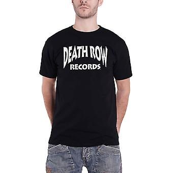 Death Row Records T Shirt Logo new Official Mens Black