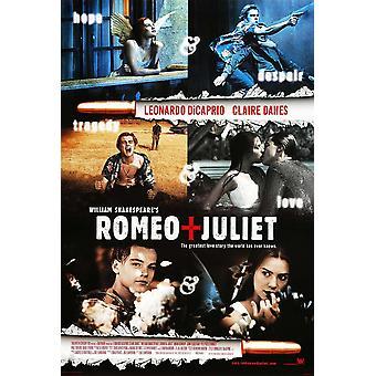 وليام شكسبير روميو + جولييت (1996) الفيلم الأصلي ملصق النمط الدولي