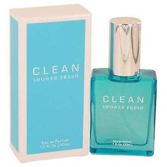 Douche propre fraîche par clean eau de parfum Spray 1 oz (femmes) V728-537409