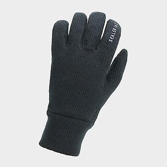 New Sealskinz Men's Windproof Reflective Glove Black
