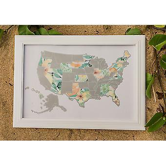 الخوخ النباتات الولايات المتحدة الأمريكية خريطة