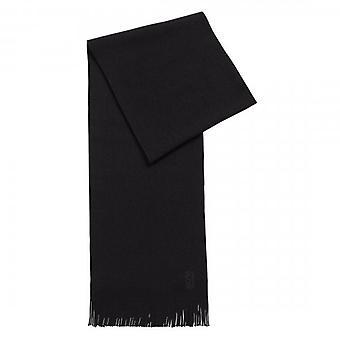 Hugo Boss Albas-M Wool Scarf Black 50435349