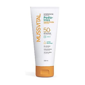 Pediatrics Sunscreen Fluid Lotion SPF 50+ 300 ml