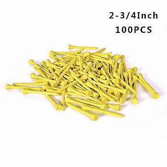 Golf Tees Bamboo, Unbreakable Tee Golf For Training Swing Practice Accessories