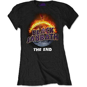 Ladies Black Sabbath The End Official Tee T-Shirt WoGirls