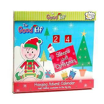 The Good Elf Christmas Hanging Countdown Advent Calendar