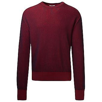 Kenzo Fa65pu5053ak25 Men's Red Cotton Sweater